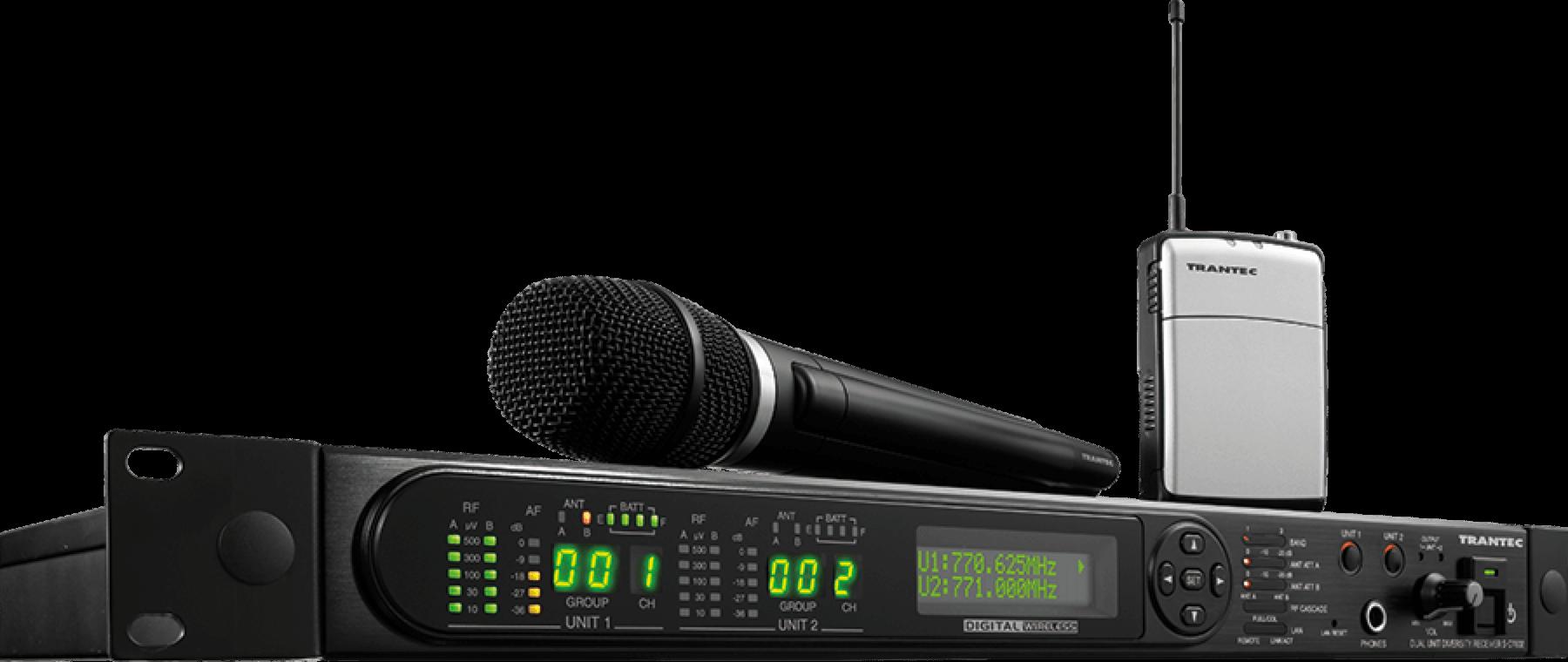 Trantec S 4.04L-EB  Tie pin Radio-Wireless microphone system  New version Ch 70
